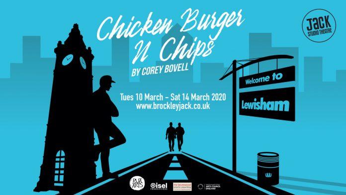 Chicken Burger n Chips, Brockley Jack