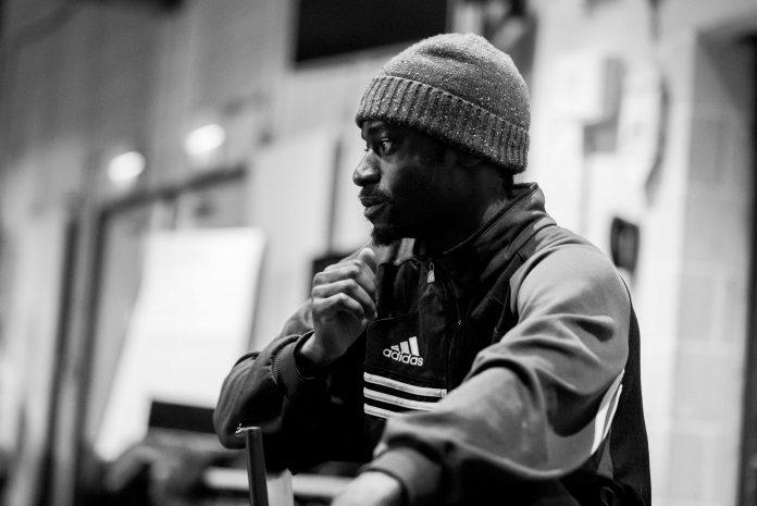 Kwame Asafo-Adjei, Wild Card - Spoken Movement, Sadler's Wells - Photo: Camilla Greenwell
