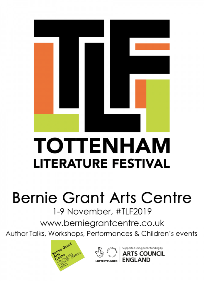 Bernie Grant Arts Centre launches the first ever Tottenham Literature Festival