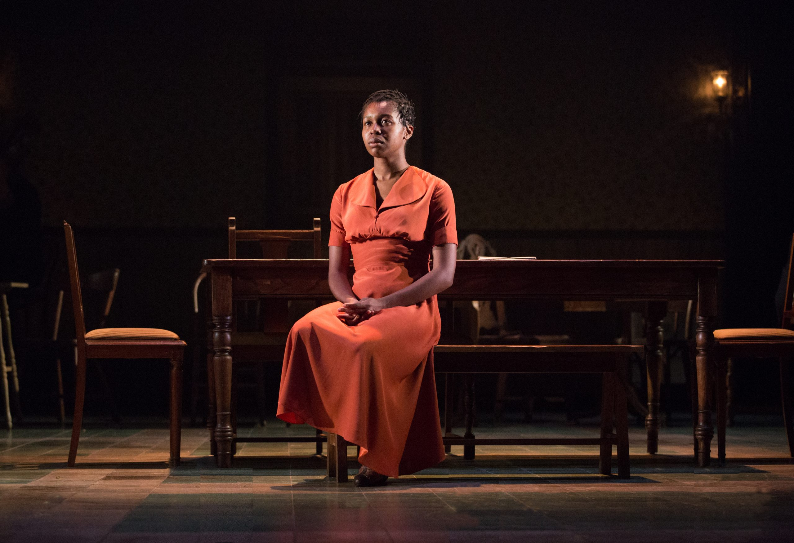 Gloria Obianyo (Marianne) - Girl from the North Country - Photo by Cylla von Tiedemann