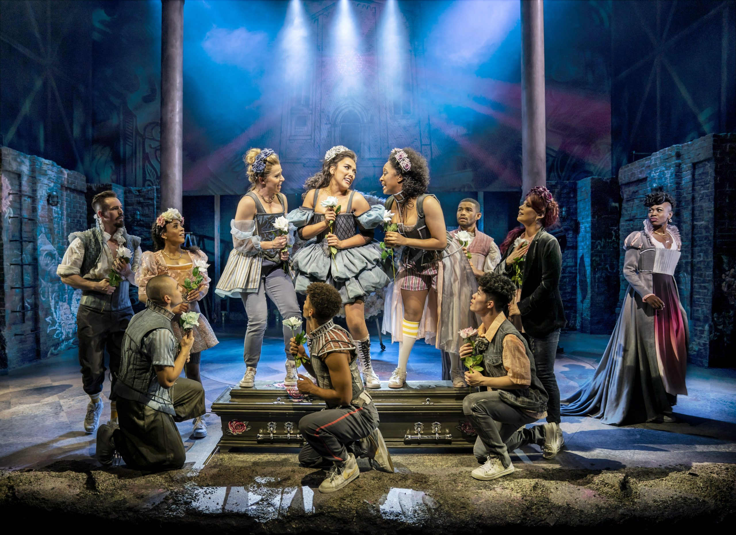 & Juliet ensemble, Shaftesbury Theatre