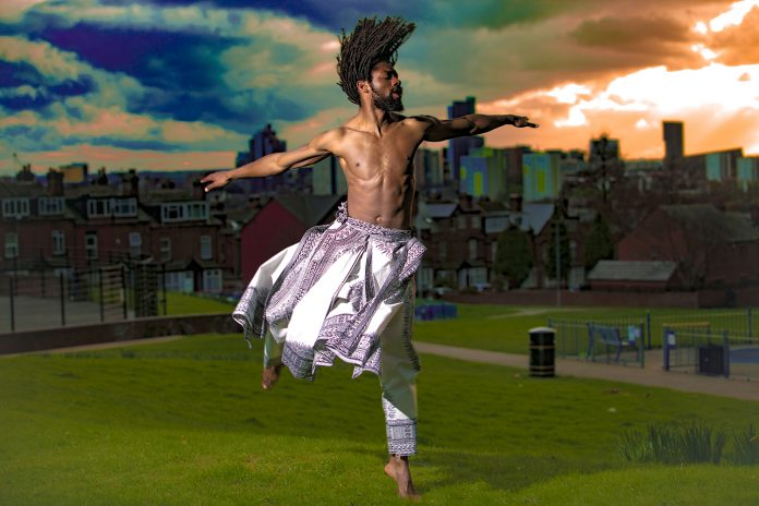Windows of Displacment, Stratford Circus_ Akeim Toussaint Buck (c) Ashley Karrel Photography