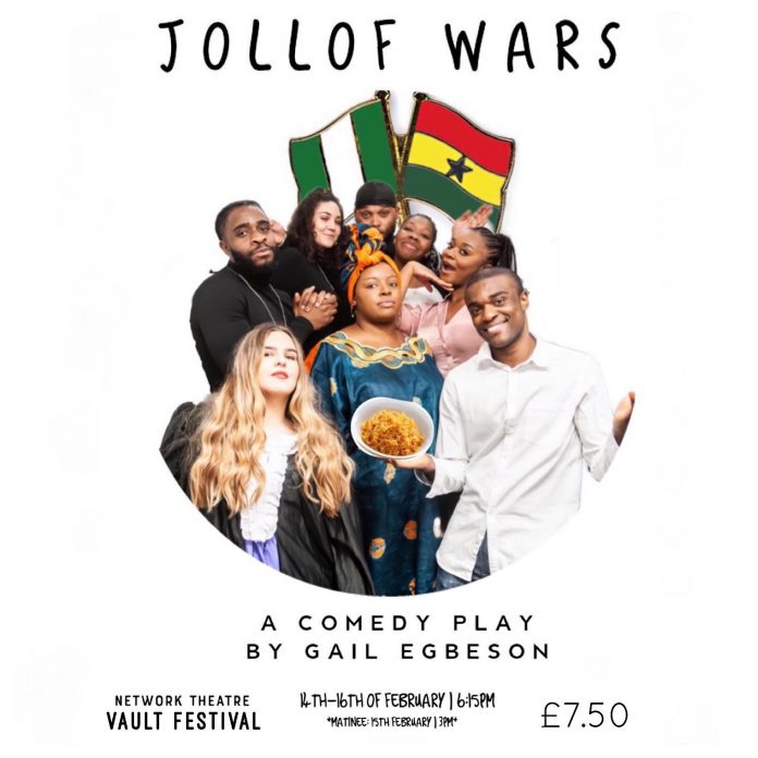 Jollof Wars by Gail Egbeson