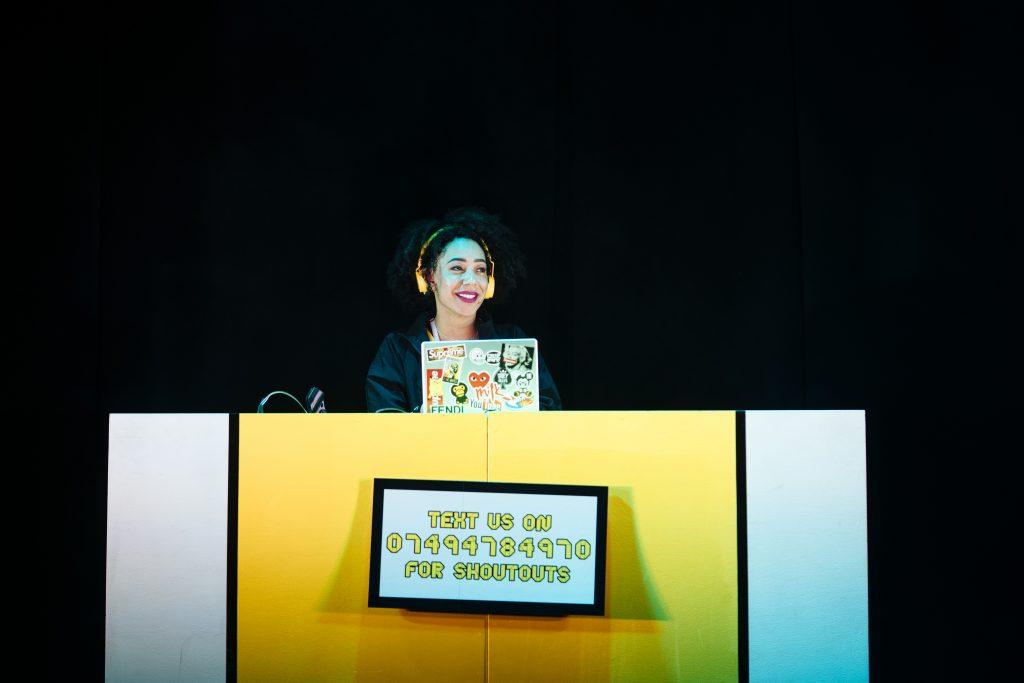 Poet in da Corner - Stacy Abalogun. Photo credit Helen Murray