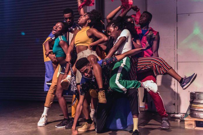 RUN IT BACK, Talawa Theatre Company. Cast from the 2019 production. Image by Sanaa Abstrakt