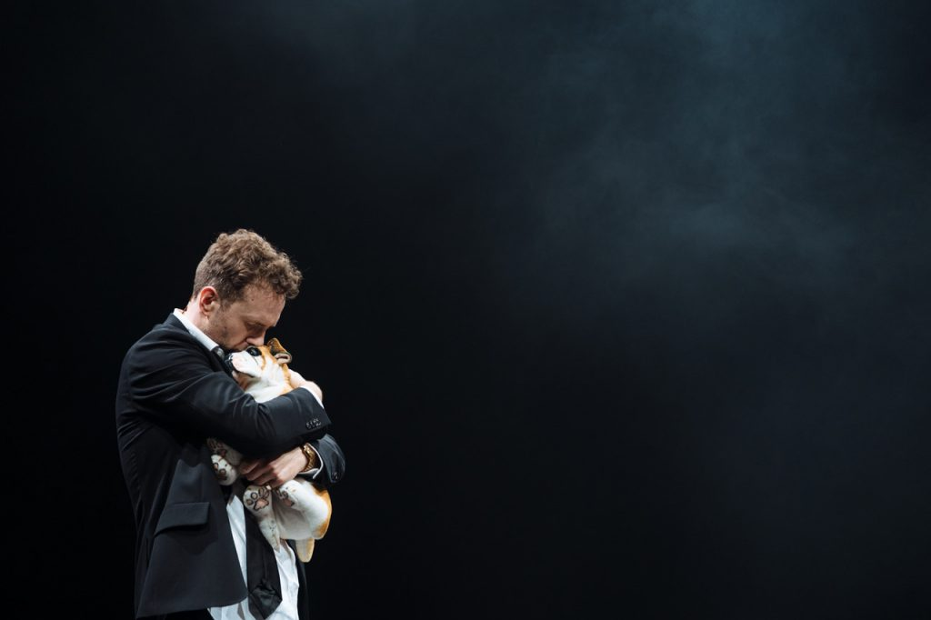 Rafe Spall as Michael in Death of England by Clint Dyer and Roy Williams. Image by Helen Murray
