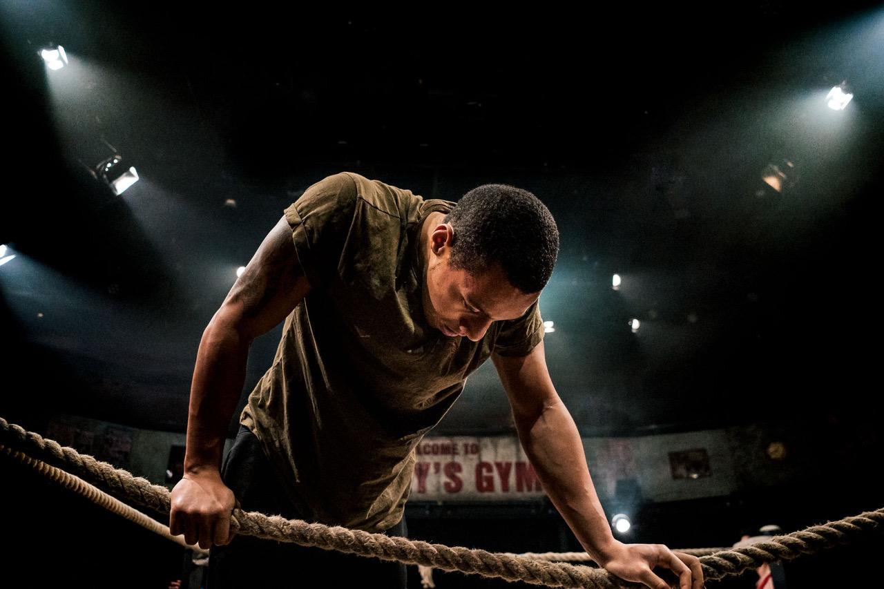 Joshua Lyster as Ben in Glory