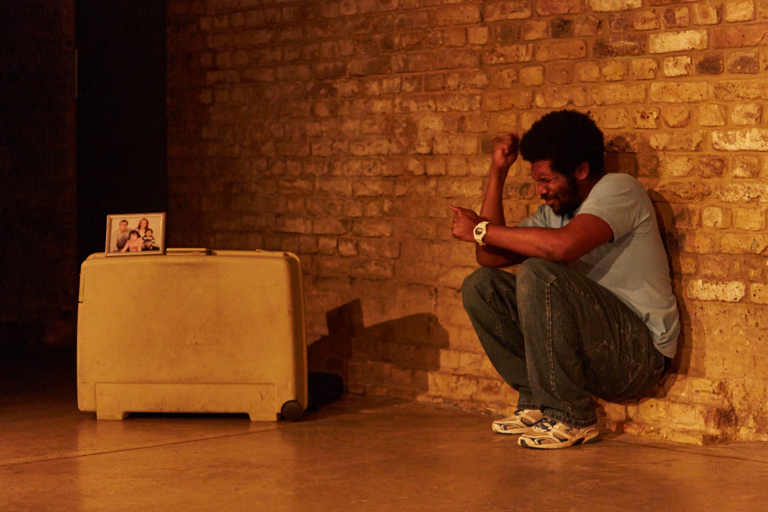 Lladel Bryant in Nine Lives. Photo Richard Lakos