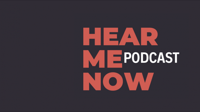 Hear Me Now podcast in partnership with Afridiziak