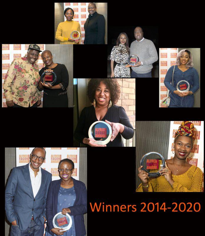 Alfred Fagon Award winners 2014-2021