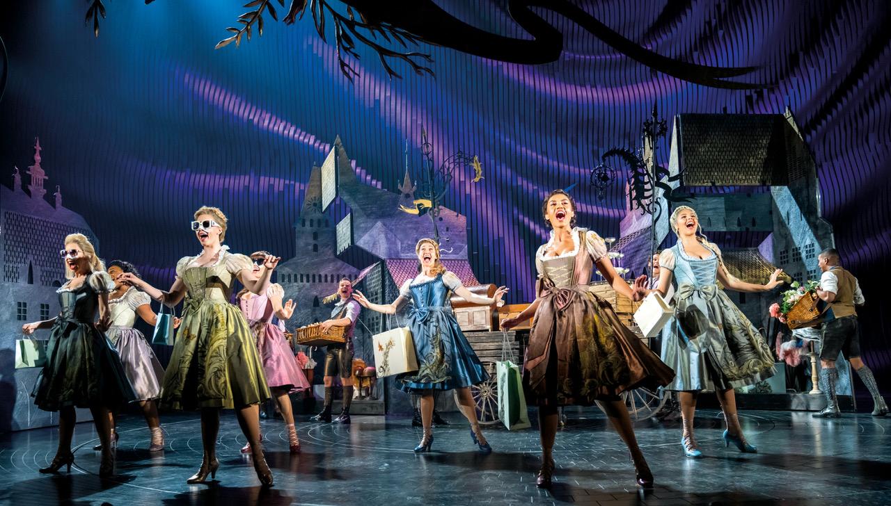Ensemble, Andrew Lloyd Webber's Cinderella, Photo Credit Tristram Kenton