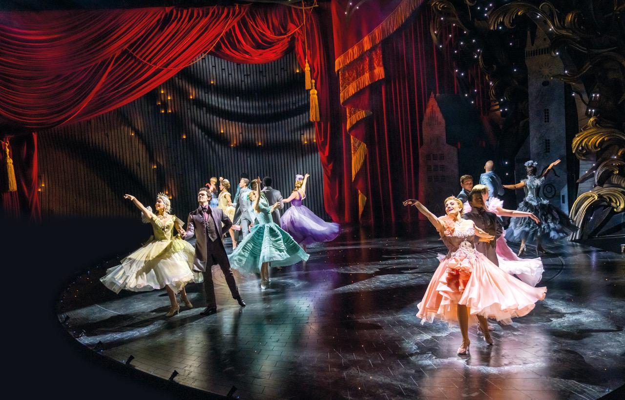 Ensemble_The Ball_Andrew Lloyd Webber's Cinderella, Photo Credit Tristram Kenton