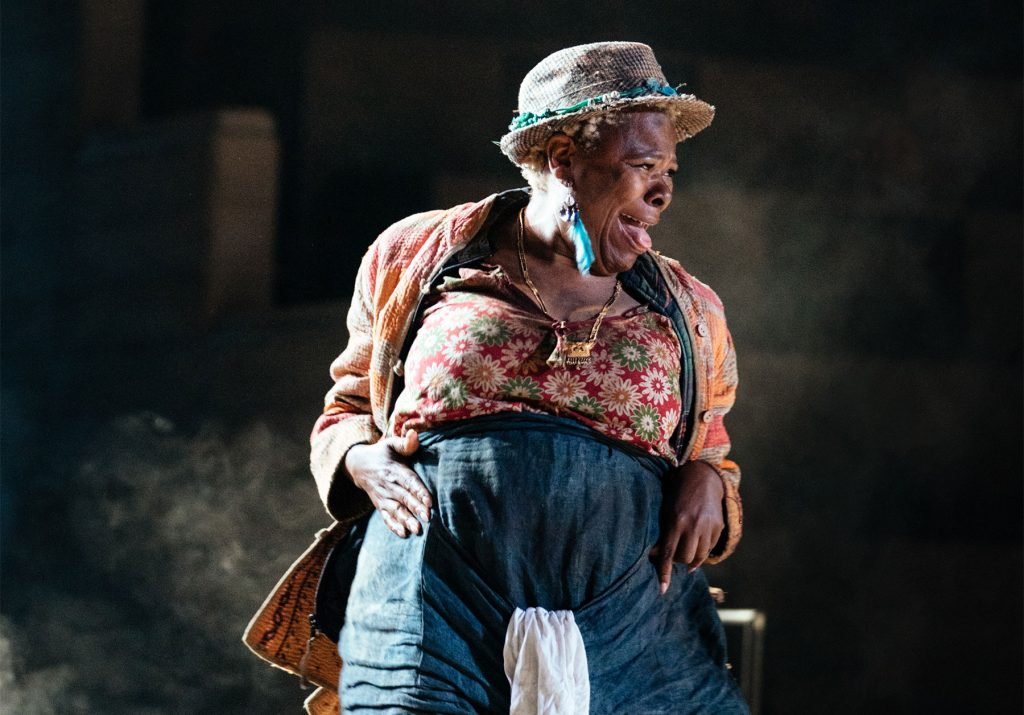 Sutara Gayle (Jelly) in Paradise at the National Theatre. Photo by Helen Murray