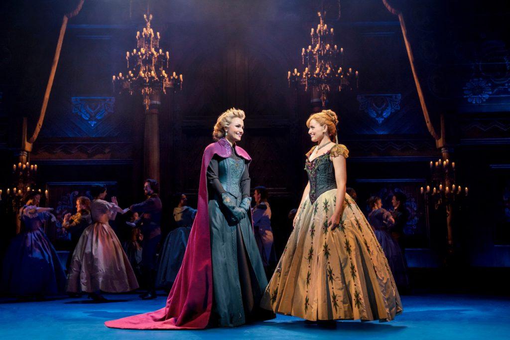 Disney's Frozen - Samantha Barks (Elsa), Stephanie McKeon (Anna), Ensemble - Photo by Johan Persson © Disney