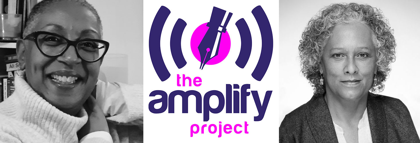 Amplify Project, L-R - Pauline D Walker and Patricia Cumper