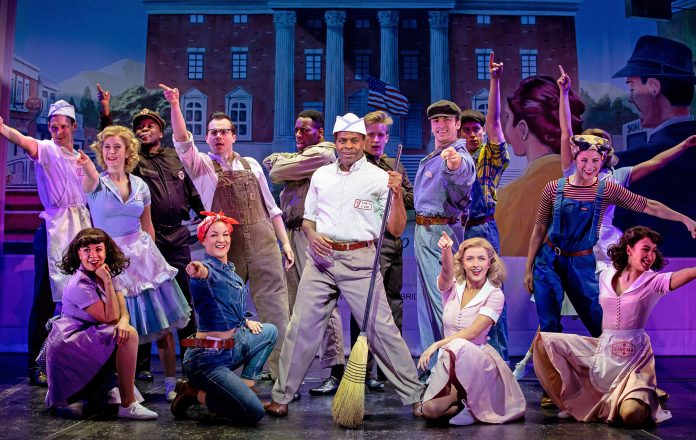 Cedric Neal as Goldie Wilson in Back to the Future the Musical, credit Sean Ebsworth Barnes