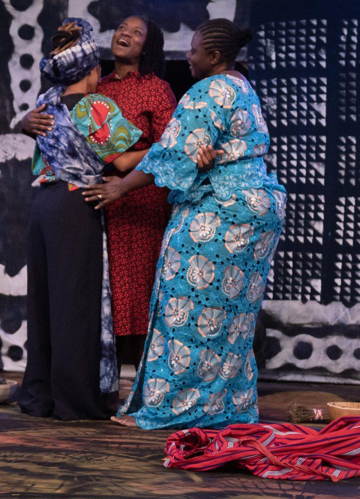 Utopia Theatre presents Here's What She Said to Me - Christina Oshunniyi, Lebogang Fisher, Tomi Ogunjobi (c) Sharon Douglas