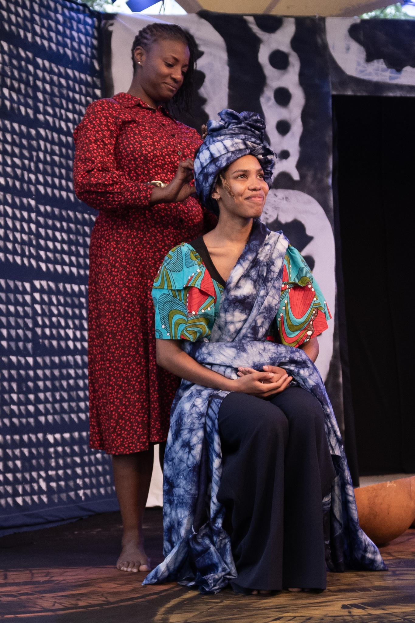 Utopia Theatre presents Here's What She Said to Me - Christina Oshunniyi, Lebogang Fisher (c) Sharon Douglas